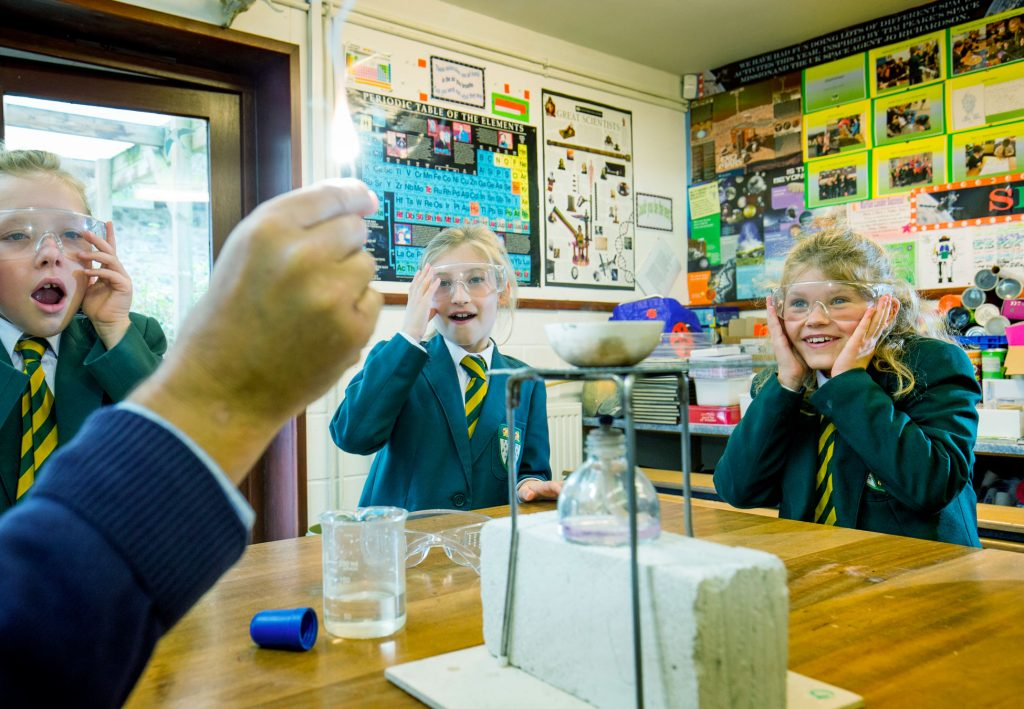 Chard school science lessons